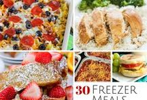 Freezer Meals+Bulk Food / Store Bulk Food in Freezer,Pantry\ for Canning etc