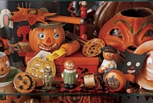 The Nostalgia Shop: Halloween Department / Mostly vintage, with a little new retro thrown in.