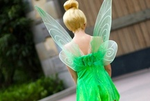 """Tinker Bell / She was originally just """"a common fairy,"""" but today, Tinker Bell is a huge part of life. What child doesn't remember meeting the feisty, little fairy in Disney's adaptation of Peter Pan? Most everyone can recall that green dress with the sweetheart neckline. She is one of Disney's most famous characters, but she is also a part of literature. This board will show the many things I like about Tinker Bell, including face characters and fan art. Tink is one of my favorites, and always will be."""
