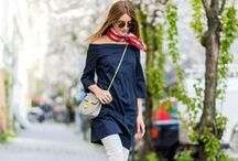 Street Style / The most stylish outfits spotted on the street.