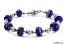 Handmade Jewelry / Beautiful handmade jewelry created with gemstones, Lampwork glass beads, Swarovski crystals and sterling silver.