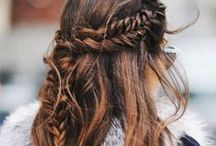 Beautiful Braids / Braids are a gorgeous and easy way to combat any bad hair day.