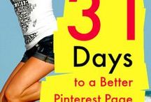 31 Days to a Better Pinterest Page / There's a lot to learn about Pinterest, so I decided to start the 31 Days to a Better Pinterest Page project. Between July 31st and August 31st, I will be publishing a blog post that will offer you an actionable step or insight to improve your Pinterest marketing. Please feel free to leave comments to let me know if the articles are helpful, or if there's a subject you would like me to write about. Feel free to follow the project at mcngmarketing.com/31-days-better-pinterest-page