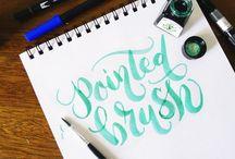 Hand lettering / Letras hechas a mano, un arte