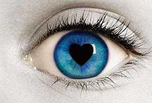 Eye Art / Art, Beautiful, Fantasy Eyes / by Karen R