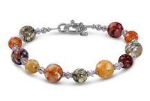 Handmade Bracelets / Beautiful handmade bracelets created with glass beads, gemstones and Swarovski crystals.