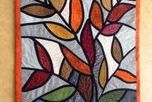 Patchwork STAINEDGLASS / by Tuula Salovaara Vac