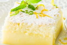 Citrus Sweets / Grapefruit, Lemon, Lime and Orange Dessert and Sweets Recipes