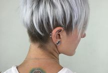 Sassy. Sexy. Silver. / Gray hairstyles