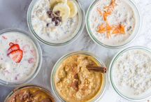 Overnight Oats / Overnight and slow cooker oatmeal recipes