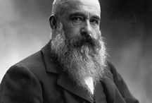 Claude Monet / Oscar-Claude Monet (1840 – 1926) A founder of French Impressionist painting, he was the most prolific practitioner of the movement's philosophy of expressing one's perceptions before nature.