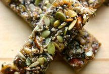 Bars and Bites / protein, energy bars and bites recipes