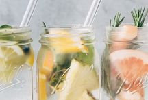 H2O + / Infused water recipes