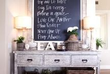 Chalkboards / Decorate your home using these great chalkboard ideas!