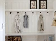 Mud Rooms / Organizing and Decorating ideas for your home mud room.