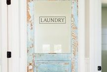 Laundry Rooms / Organizing and Decorating ideas to get your laundry room looking amazing!