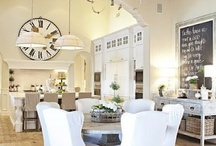 Dining Rooms / Decorating ideas for your dining room.  Vintage, Farmhouse, French styles and more!