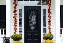 Autumn / Fall decor, Holidays, recipes and more.  Halloween, Thanksgiving, Harvest time.  It is all here!