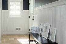 Trim Ideas / Bead board, batten, trim and other ways to dress up your home.