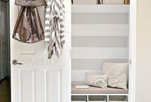 Closets / Organize and decorate your closets with these helpful tips and ideas.
