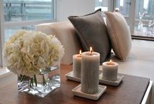 Interior Decor / interior home decorations - floral, candles, pictures, DIY
