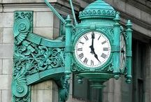 Great Timing ~ Clocks  / lovely old clocks