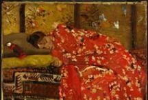 Nabis and Patterns / #art #post-impressionism #bonnard #vuillard  / by Gee Demiray