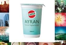 #AyranbyLarsa / Ayran by Larsa since 1994. Larsa introduces genuine flavors of Eastern Mediterranean to Sweden.