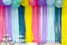 Birthday Party Ideas / Fun diy and party inspirations for both boys and girls.