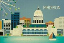 Madison Love / We have a soft spot for our fair city. Its local food and drink, art and culture, UW sports and beyond. Once you live here, Madison stays forever in your heart no matter where you go.