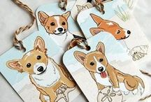 Holiday Gifts for Corgi Lovers / Gift ideas for the corgi lover! Corgi items are sometimes hard to come by, so I am helping you find the perfect corgi related items for the corgi owner and fanatic in your life.