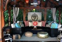 Upper deck patio JH / Design ideas for my deck / by Evan Daily
