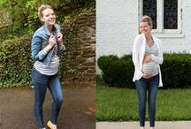 dressing the bump. / Maternity Fashion / Dressing the bump