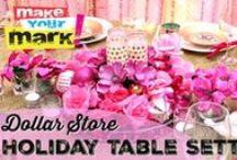 Make Your Mark! YouTube Videos / Awesome DIY projects with Mark Montano and UnrulyJulie Garcia
