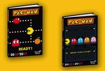 Pac Man by Quo Vadis / Adoptez l'esprit retro-gaming avec les #agendas et fournitures Pac Man de Quo Vadis ! #backtoschool #rentréedesclasses 2016-2017