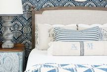 Wedgewood/ Blue & White / blue & white home decor design ideas and inspiration