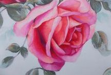 Romantic Roses / Rococo French Rose Parisian Pink