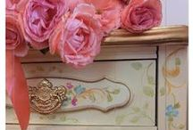 French Rococo Style Design -  Pastels / French Rococo Style Designs in Pastel