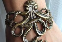 D'Pirate Jewelry / Bracelets, necklaces, earrings, belts... anything that's pretty, fun, or shiny! / by Domestic Pirate