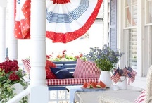 Holi DaYs of Red White & Blue / by Jacqueline Claxton
