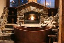 Decor 4 LOG Cabin / by Jacqueline Claxton
