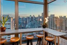 Great Views / They don't always need to be covered. Windows are a wondrous addition to any home.