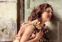 Beautiful Women in Art / Beautiful paintings of women