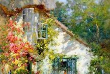 A Painted Cottage / Cottage paintings