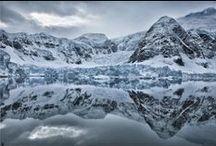 Mountain in winter // La montagne en hiver