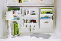 Let's Get Organized / Home organization isn't always glamorous and easy, but we can make it easier. Here you will find home organization tips we have compiled from all over. No need to look any further, this is the best resource for clever and functional home organization techniques.