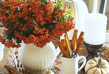 Fall in Love / Autumn inspired weddings and events