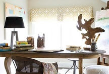 Valances and Cornices / Valances and Cornices add a finished look to any window treatment. Take a look!