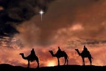 """Celebrating the Christmas Season / """"For unto you is born this day, in the city of David, a Savior, which is Christ the Lord.""""- Luke 2:11.  May your Christmas sparkle with moments of love, laughter, and goodwill, and may the year ahead be full of contentment and joy.  Please feel free to pin as much as you would like from any combination of my humble assortment of boards. Thank you very much for visiting my page!  / by Crystal Merrill"""