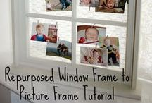 Window Picture Frame Ideas